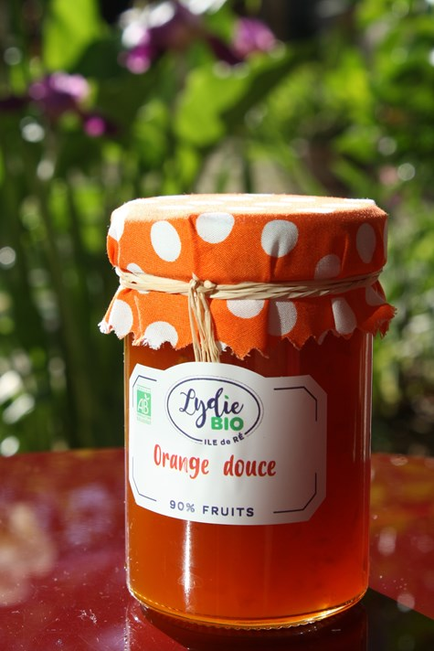 Confiture Orange douce BIO